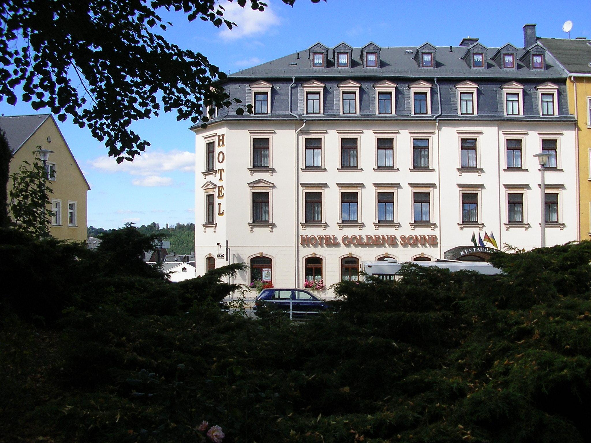 Hotel Goldene Sonne in Annaberg-Buchholz – HOTEL DE